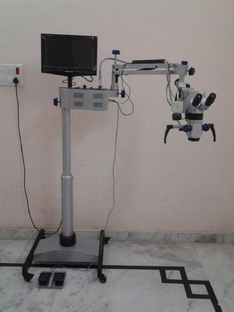 ENT Operating Microscope 5 Step LCD