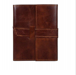 Handmade Leather Journal Notebook Refillable Diary